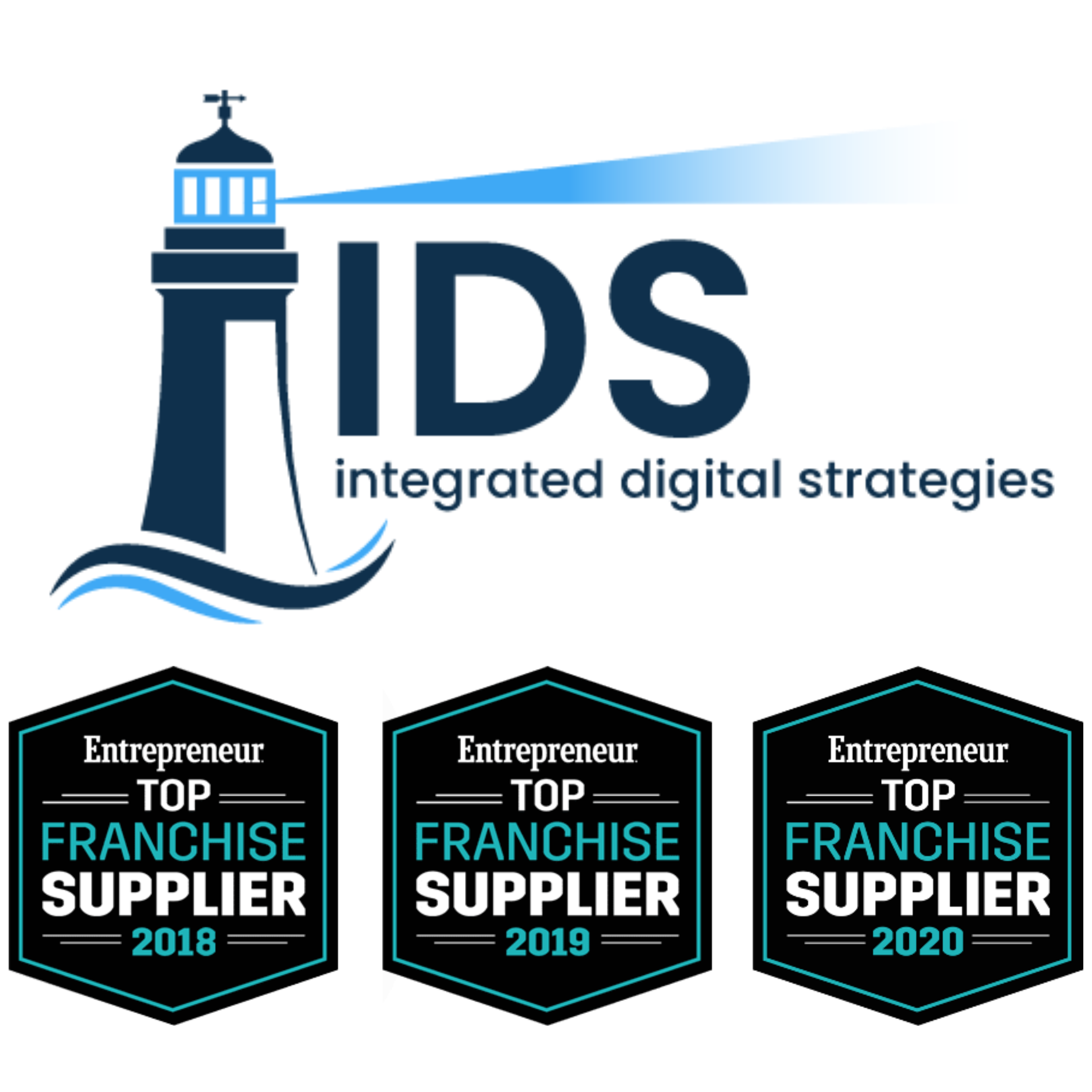 Integrated Digital Strategies recognized by Entrepreneur as a Top Franchise Supplier for three straight years