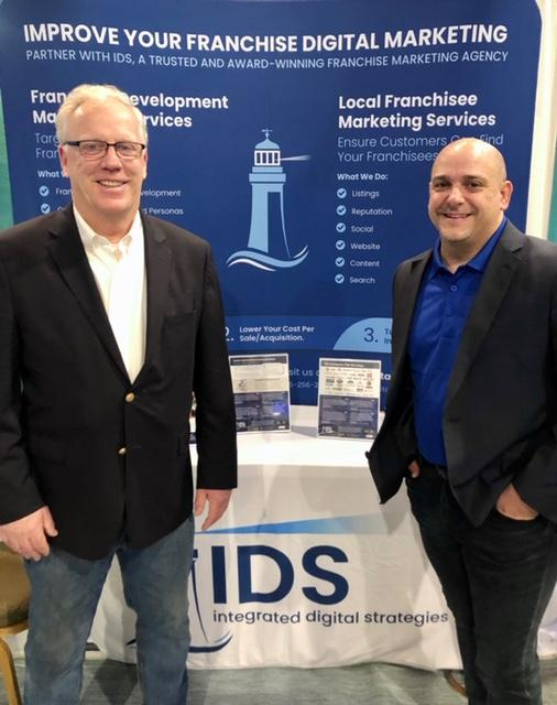 Steve Galligan and Joseph Mohay at the IFA Convention 2020